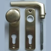 Lővér front-door konb set with cylinder-hole (PZ)