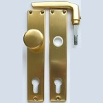 5300 front-door knob set with cylinder-hole (PZ)