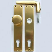 5300 bejárati gombos garnitúra cilinderlyukas (PZ)