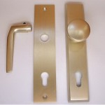 Safety shield with knob 90 mm