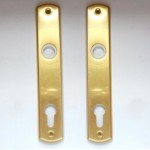 5180 back-plate with cylinder-hole (PZ)