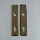 5300 back-plate with cylinder-hole (PZ)