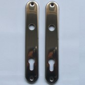 5400 back-plate with cylinder-hole (PZ)