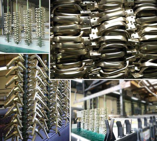 Eloxált alumínium kilincsek, fogantyúk, zárcímek