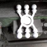Gépi nyomásos öntéssel készült kerítésdíszek