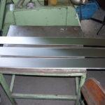 Présgépbe adagolható méretre vágott alumínium lemezdarabok